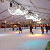 Happy Holidays ice rink